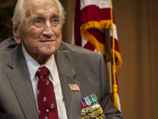 Retired Lt. Gen. Lawrence  Snowden receives honors