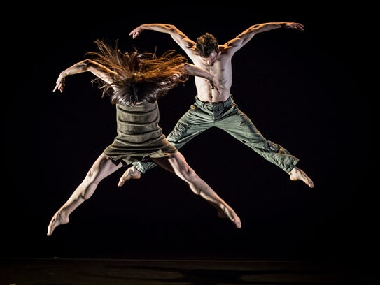 Check out a powerful performance of movement when dance