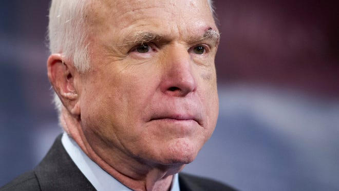 "Senator John McCain called the situation with North Korea ""very, very, very serious."""