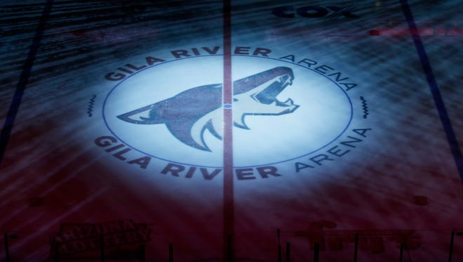 Gila River Arena during the Coyotes season opener on Thursday, Oct.9, 2014, at Gila River Arena in Glendale.