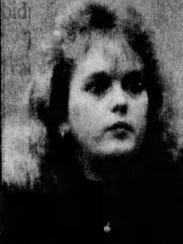 LIsa Pyatt's mug shot from 1991.