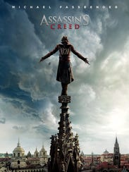 """The movie poster for """"Assassin's Creed."""""""