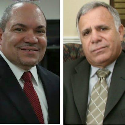 Perth Amboy City Council candidates Sergio Diaz and