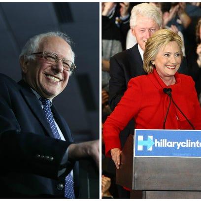 Sen. Bernie Sanders and former Secretary of State Hillary