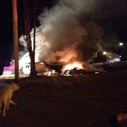 The Jackson Fire Department responded to a house fire