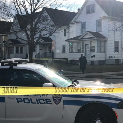 Investigator on scene following alleged shots fired.