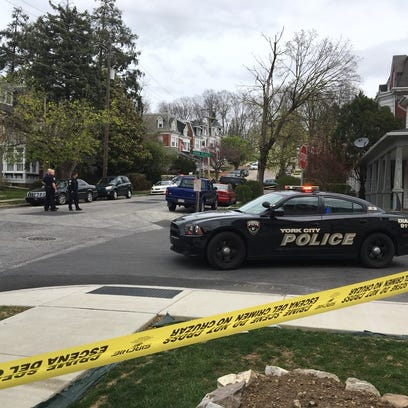 A shooting was reported in the 400 block of Park Street