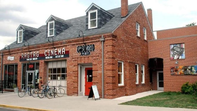 This file photo shows the Hittsville complex, which houses Ragtag Cinema, Uprise Bakery and, now, Hitt Records in the former 9th Street Video space