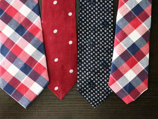 Visible Clothing plans to soon produce a line of men's ties, some with inside pockets to store small items.