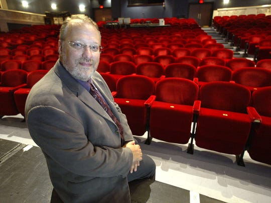 David Ira Goldstein, the Artistic Director of Arizona Theatre Company in a 2004 portrait for The republic in the Herberger Theater. Goldstein is leaving ATC after 25 years.