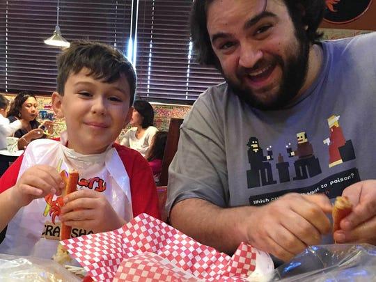 Matteo Armato and his father, Republic dining critic