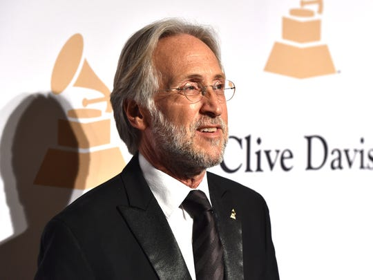 Neil Portnow arrives at the 2015 Clive Davis Pre-Grammy