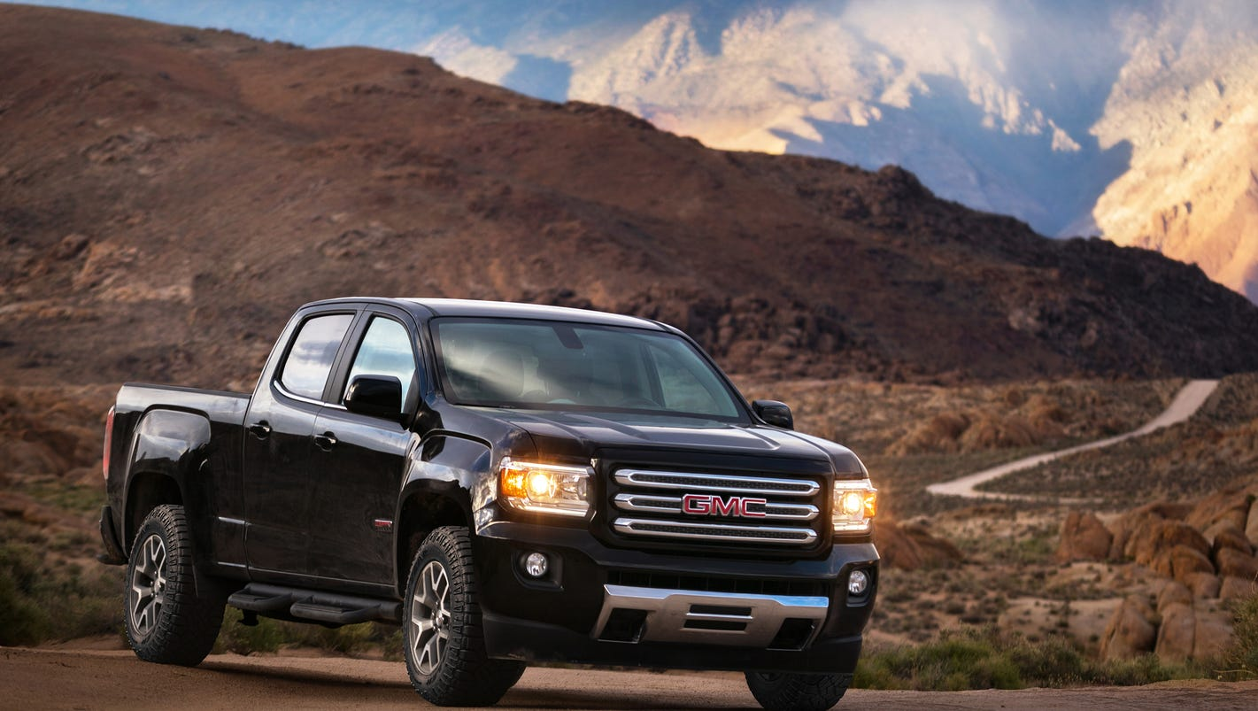 gmc adds 2 new choices in canyon midsize pickup lineup. Black Bedroom Furniture Sets. Home Design Ideas