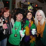 The 2015 Mystic Krewe of Nereids Moonpie Party at the Sandshaker Lounge Friday night.