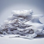 Modern toilet paper has been traced to 1857 and an American inventor named Joseph Gayetty.