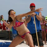Friday at the 2014 Flora-Bama Interstate Mullet Toss