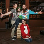 Blend Lounge hosted its annual Ugly Sweater Christmas Party Sunday afternoon.