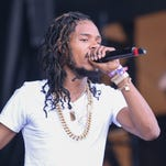 Fetty Wap performs on the Hangout Stage on Sunday during the 2016 Hangout Music Fest.