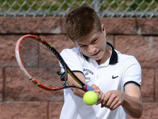 Dallastown vs Red Lion boys' tennis