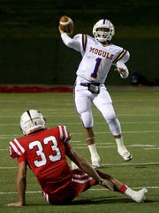 Omar Nunez (1) and the Munday Moguls provided some of the most thrilling moments on the football field for the Wichita Falls area in the past decade.