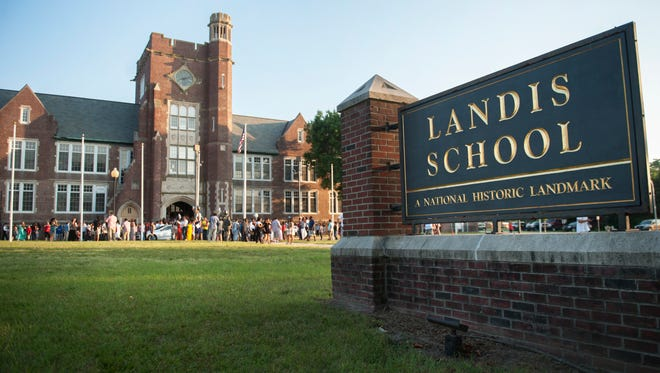 The Landis Intermediate School in Vineland held its final recognition ceremony on Tuesday.  The  Vineland school district plans on turning the historic school building into offices.  06.13.17