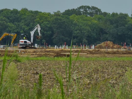 Construction is underway on Southside High School in