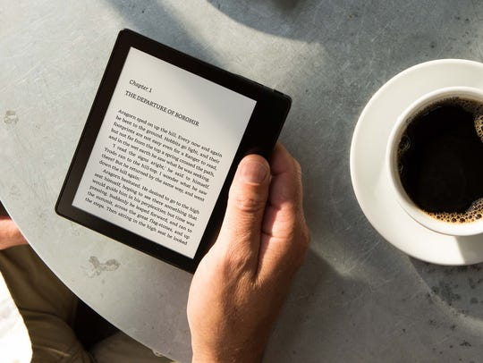 The Kindle Oasis waterproof ebook reader is more ideal