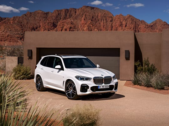 BMW unveiled the latest model of its best-selling SUV, the X5, this week, June 5, 2018. It's manufactured at the BMW plant in Spartanburg County, South Carolina.