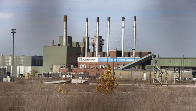 In October of 2009, this what the GM  Willow Run transmission factory looked like.