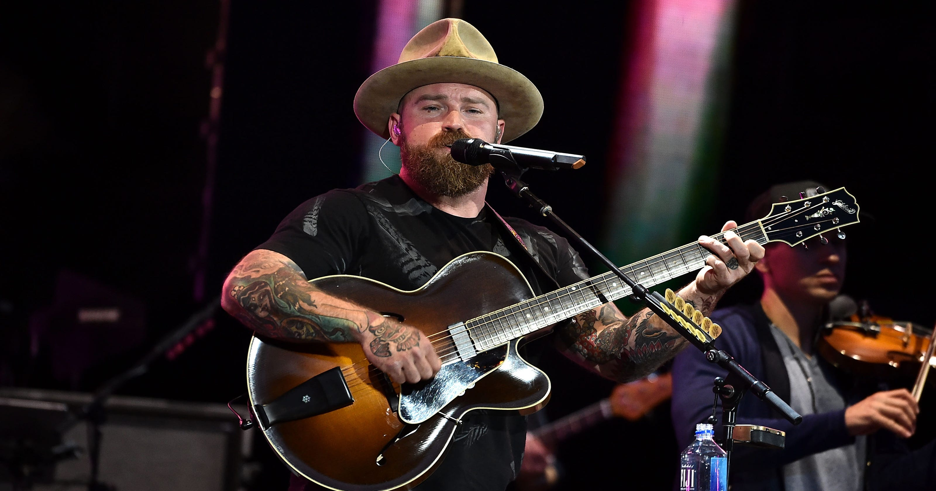 Country star Zac Brown, wife Shelly split after 12 years of marriage