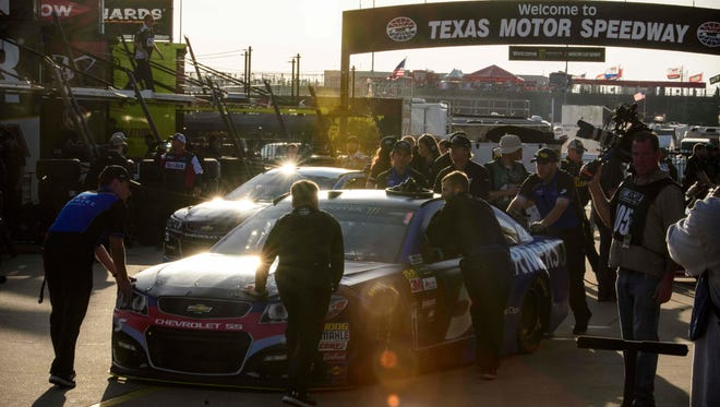 Drivers and their teams spent most of the weekend trying to adjust to the new surface and configuration at Texas Motor Speedway.