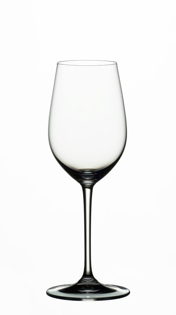 Riedel's Vinum Riesling/ Sauvignon Blanc glass.