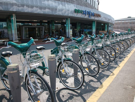 Best bike-sharing cities in the world