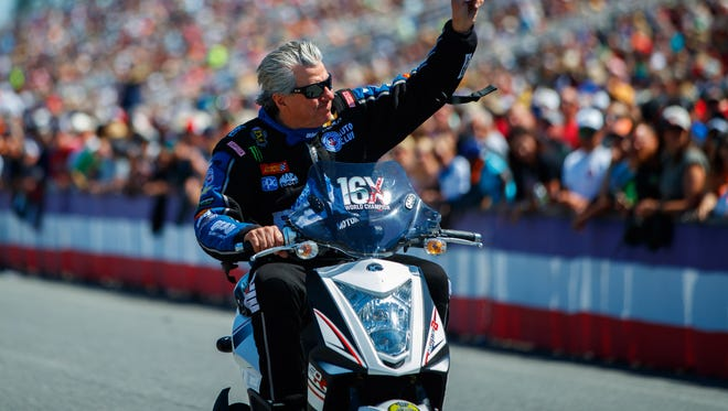 John Force earned his 148th career Funny victory Sunday at the Gatornationals.