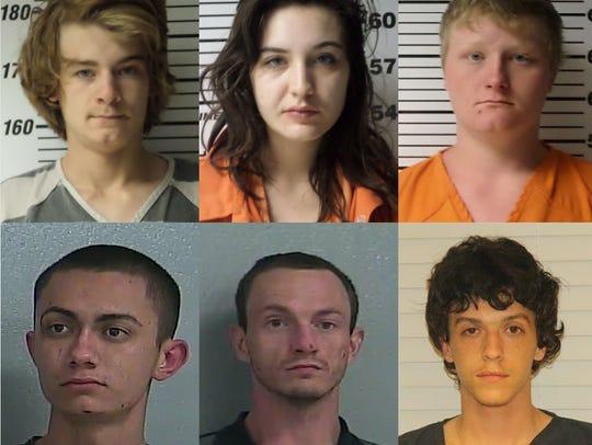 Nathaniel Lee, Brooke Beckley, Joshua Applegate, Yovanny