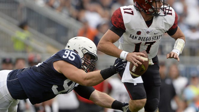 Carl Nassib's fantastic walk-on-to-riches story is even more intriguing because he prefers not to talk about it. He doesn't want to put himself before the team.