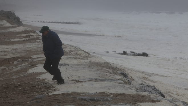 Cold weather and rain haven't helped fishing at the  Jersey Shore.