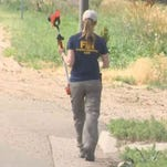 A task force evidence recovery team responded to the 6800 block of County Road 9 in Loveland to follow up on leads from tips they have received