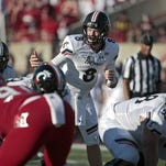 Hayden Moore will make his first college start at quarterback for the Cincinnati Bearcats.