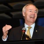 Gov. Asa Hutchinson speaks at Arkansas State University