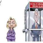 Hillary and Bill.