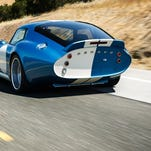 The Renovo is an all electric car based on the iconic Shelby Daytona Coupe.