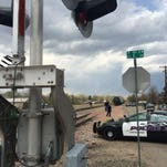 A man died Thursday afternoon in Loveland after being struck by a train, investigators said.