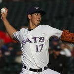 Bats pitcher Michael Lorenzen is one of the top prospects in the Cincinnati Reds' organization.