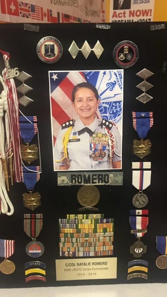 Natalie Romero ROTC