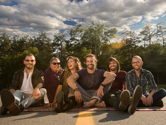The Adam Ezra Group performs Wednesday in Stowe.