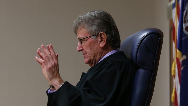 Judge William Kocher in court on Nov. 13.