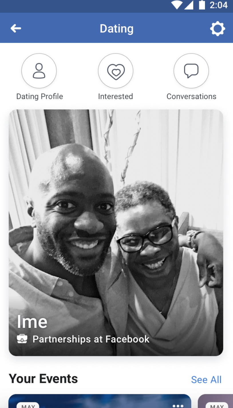 New dating site through facebook sign