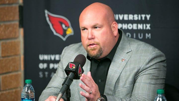 Arizona Cardinals GM Steve Keim discusses possible