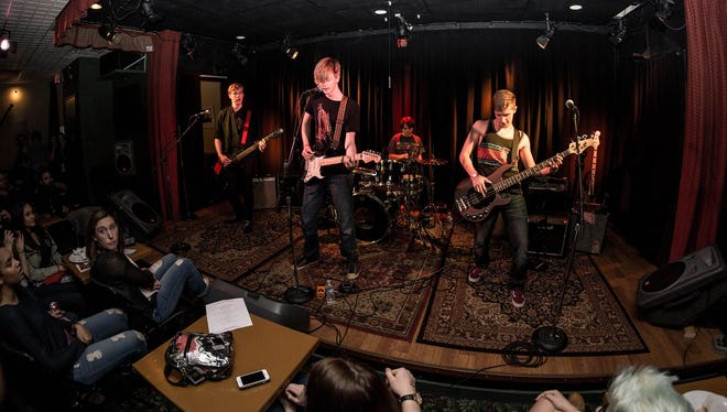 Hockessin-based band The Subterraneans performing at The Kennett Flash in Kennett Square, Pa. earlier this month.
